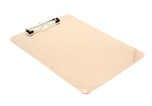 Папка-планшет цвет светло-коричневый