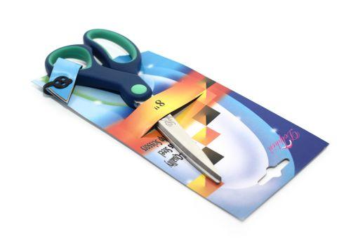 "Ножницы Dolphin 8"" цвет синий"