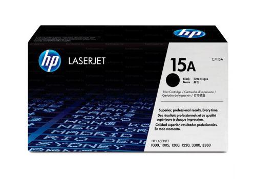 Картридж HP C7115A, 15A черный, HP LaserJet 1000/1005/1200/1220/3300/3380